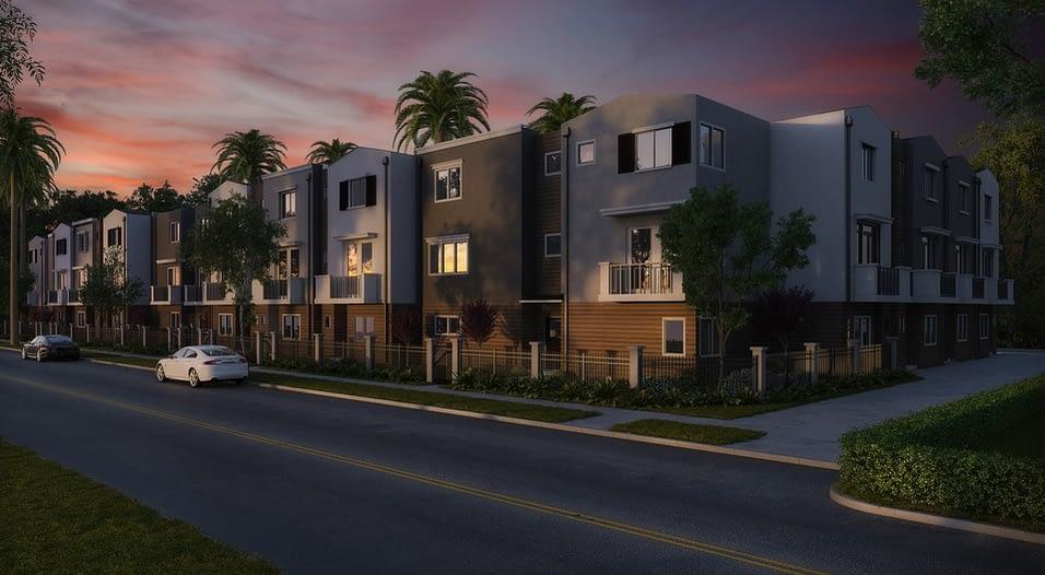 a condo housing